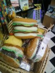 Hamburger seat cushions