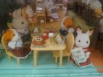 Fuzzy rabbit dolls